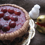 Тортик с виноградом (torte with grapes)